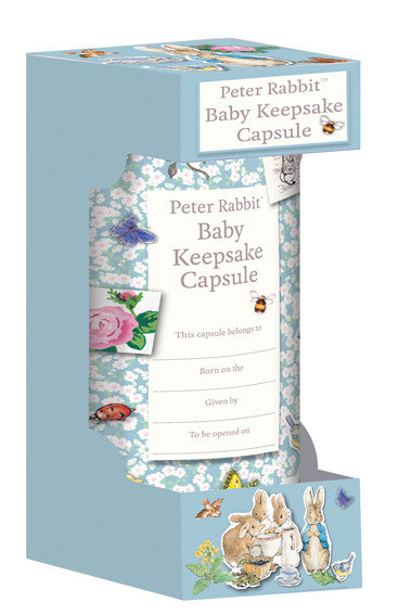 Beatrix Potter's Peter Rabbit Baby Keepsake Capsule