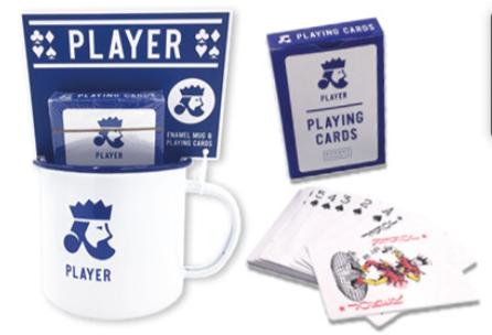 Mug and Playing Card Gift Set