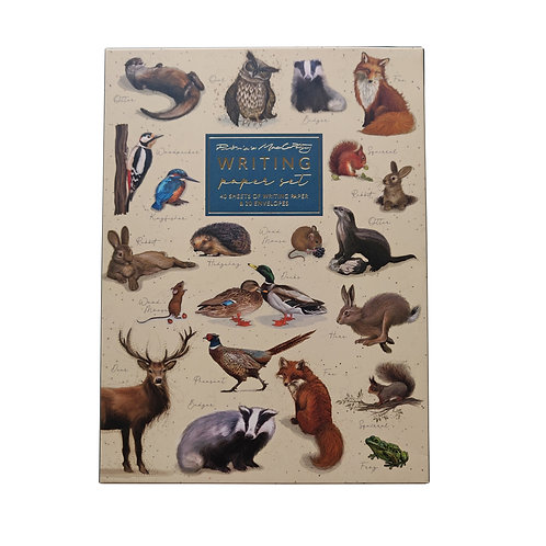 Patricia MacCarthy Wildlife Writing Paper Set