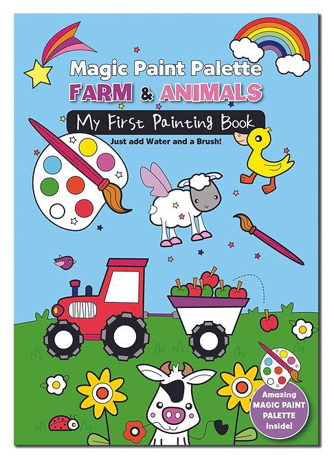 Magic Paint Palette - Farm & Animals