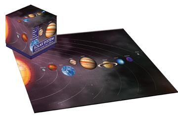 Solar System Planets - 100 Piece Jigsaw Puzzle Cube