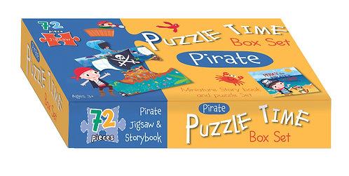 Jigsaw & Book Set - Pirate