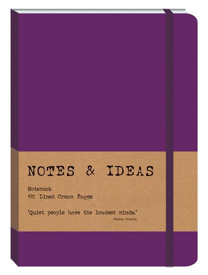 RK Notes & Ideas Journal - Deep Purple