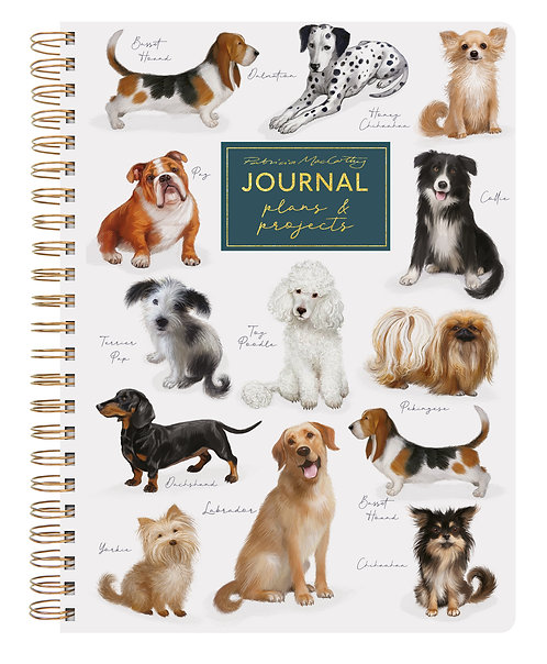 A5 Journal - Patricia MacCarthy Dogs