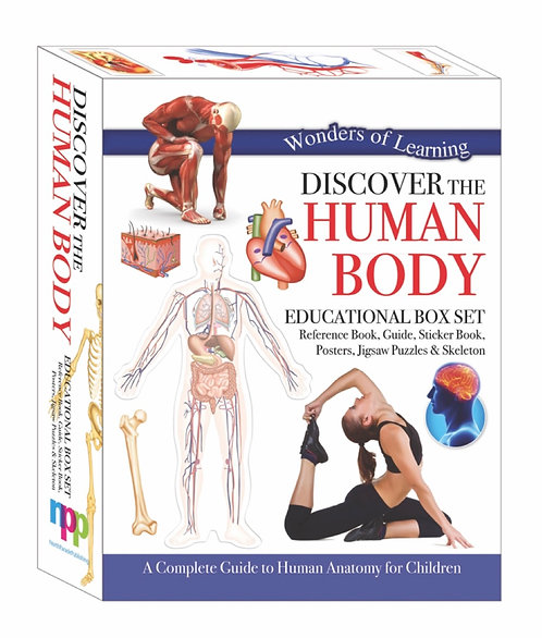 Discover the Human Body - Wonders of Learning Box Set
