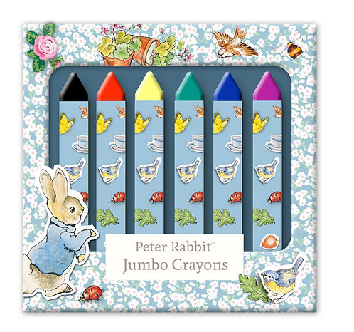 Beatrix Potter's Peter Rabbit 8 Jumbo Crayons