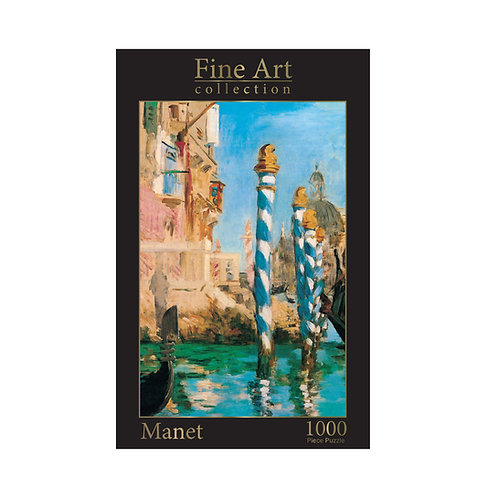 1000 Piece Jigsaw - Manet: Grand Canal in Venice