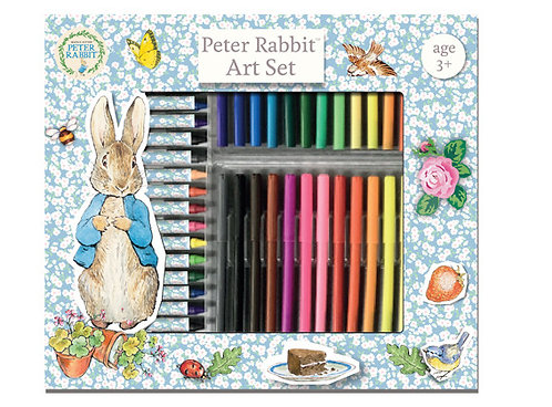 Beatrix Potter's Peter Rabbit 53 Piece Art set