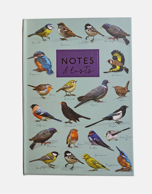 Notes and Lists Folder - Patricia MacCarthy Birds