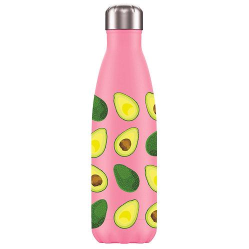 Water Bottle - Tutti Frutti Avocado