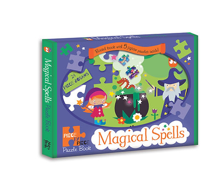 Magical Spells - Piece by Piece Puzzle Book
