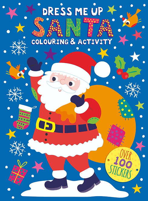 Dress Me Up Colouring & Activity Book - Santa