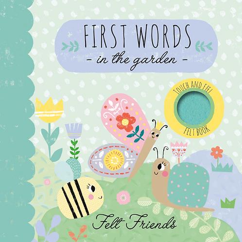 First Words in the Garden - Felt Friends