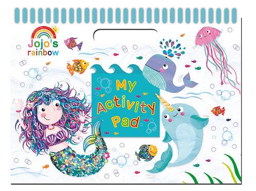 Activity Pad - Jojo Rainbow Mermaid