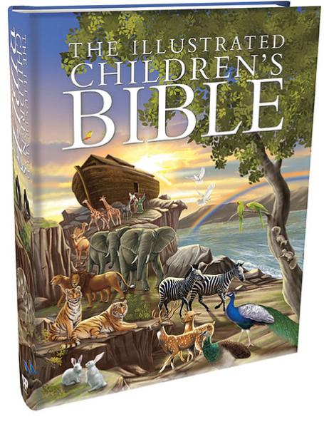 Children's Illustrated Bible - Hardback