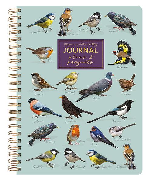 A5 Journal - Patricia MacCarthy Birds