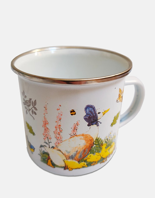 Beatrix Potter's Jemima Puddle-Duck Enamel Mug