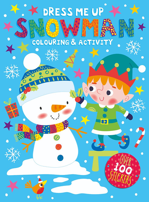 Dress Me Up Colouring & Activity Book - Snowman