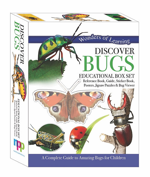 Discover Bugs - Wonders of Learning Box Set