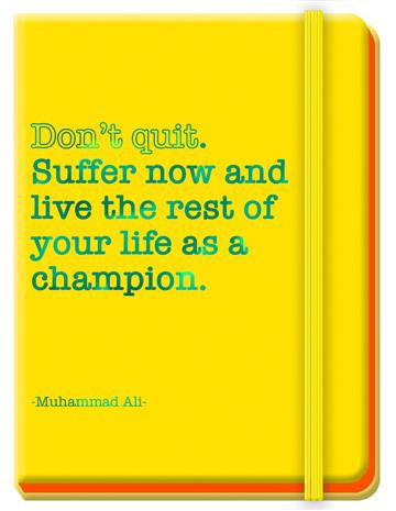 Journals for Success - Muhammad Ali