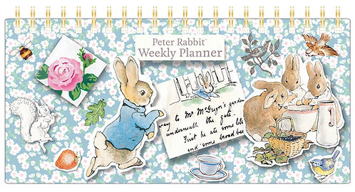 Weekly Planner - Peter Rabbit