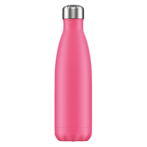 Large 1 Litre Water Bottle - Pink