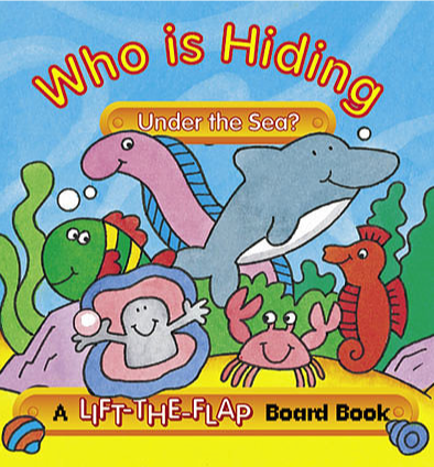 Who is Hiding Under the Sea? - Mini Lift-the-Flap Board Book