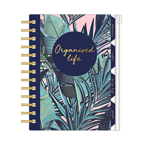 Organiser, Planner, Notes, To Do List, Addresses - Palm Springs 'Organised Life'