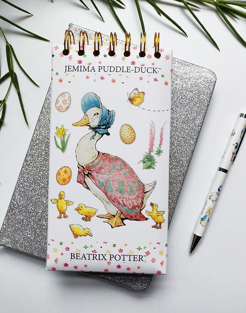 Tall List Pad - Jemima Puddle-Duck