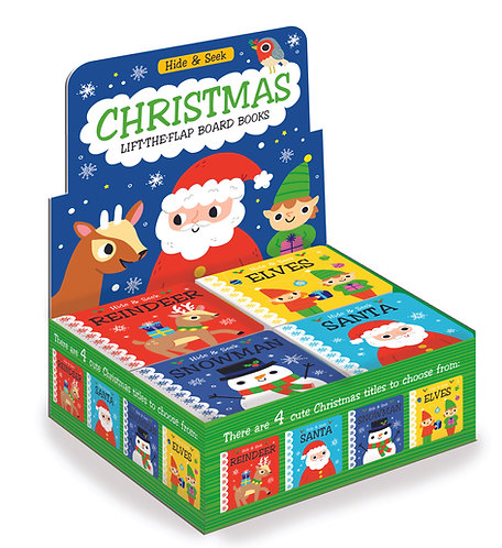 Christmas Hide & Seek Lift-the-Flap Mini Board Books