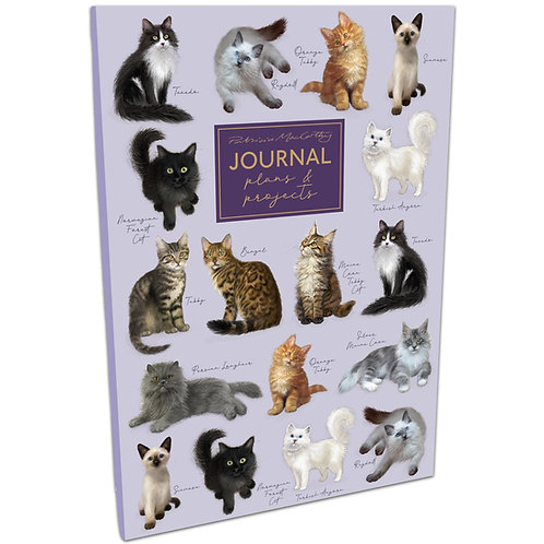 B5 Journal - Patricia MacCarthy Cats
