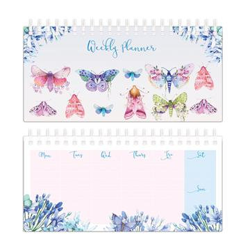 Weekly Planner - Butterflies & Moths