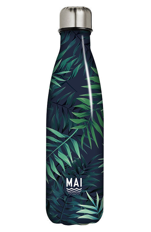 Water Bottle - Mai Surf Tropical Leaves