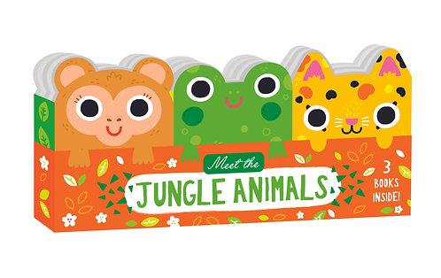 Meet the Jungle Animals - Mini Board Book Set