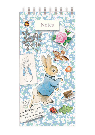Notes and Lists Pad - Peter Rabbit