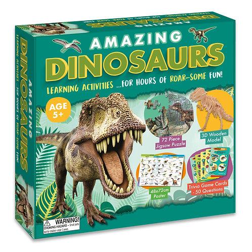 Amazing Activity Box Set - Dinosaurs