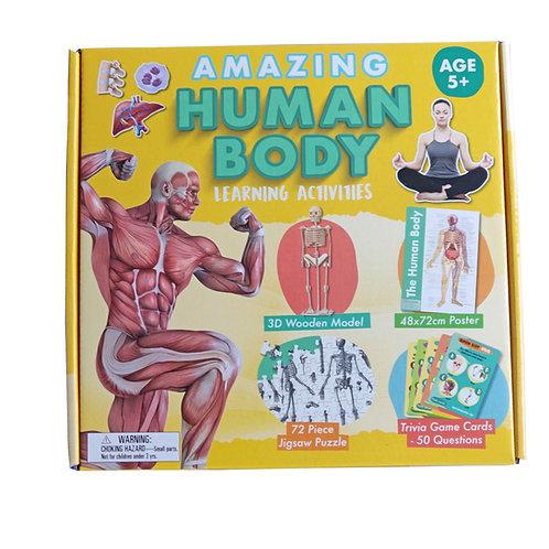 Amazing Human Body - Activity Box Set