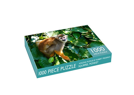 1000 Piece Jigsaw - Squirrel Monkey