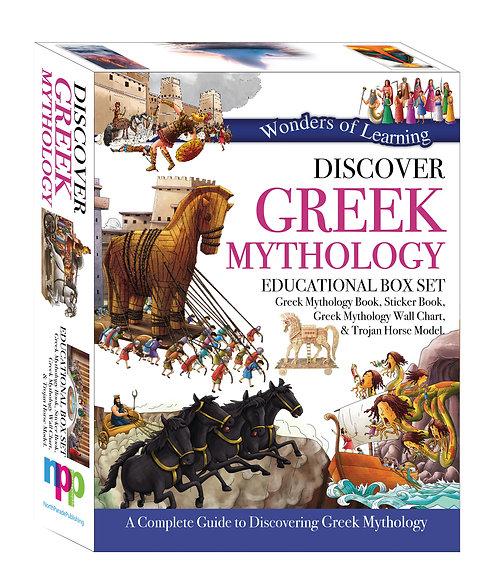 Discover Greek Mythology - Wonders of Learning Box Set