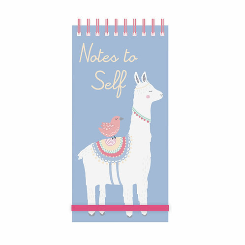Notes and Lists Pad - Llama Adventures 'Notes To Self'