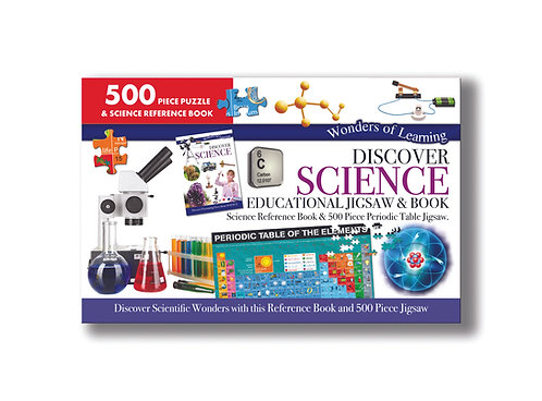 Discover Science Jigsaw & Book Set