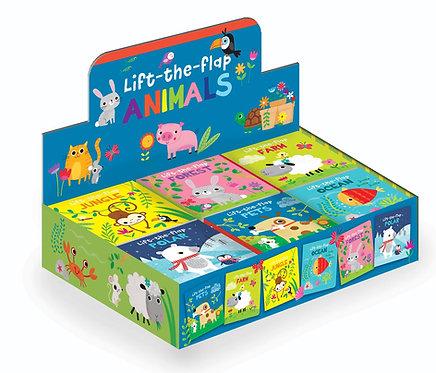 Lift-the-Flap Animals Mini Board Books