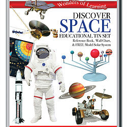 Discover Space - Wonders of Learning Tin Set
