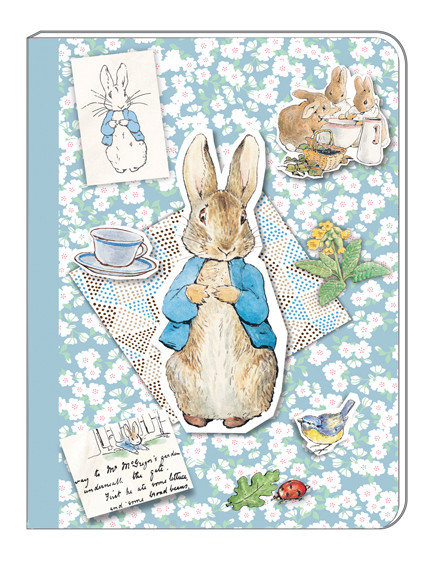 A5 Soft Cover Notebook - Peter Rabbit