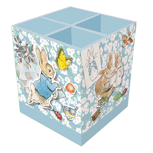 Square Pen Pot - Peter Rabbit