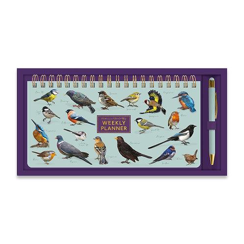 Patricia MacCarthy Birds Weekly Planner & Pen Set