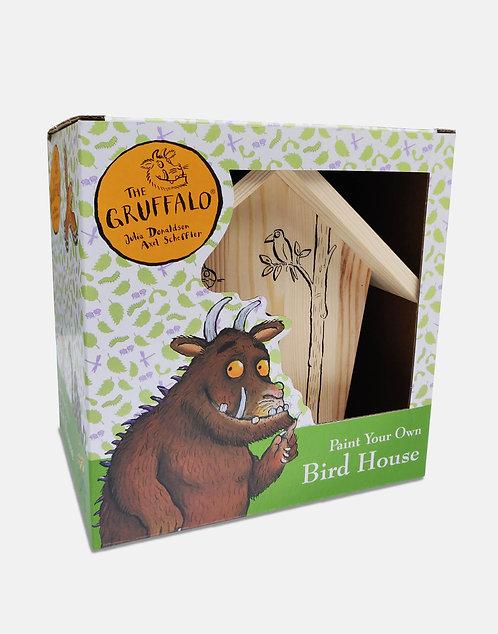 Gruffalo Paint Your Own Birdhouse