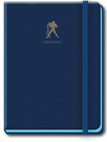 Aquarius A5 Flexi Zodiac Journal