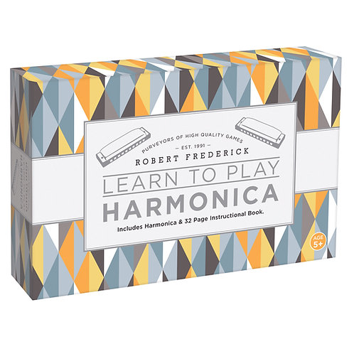 LEARN TO PLAY HARMONICA - PYRAMID PATTERNS