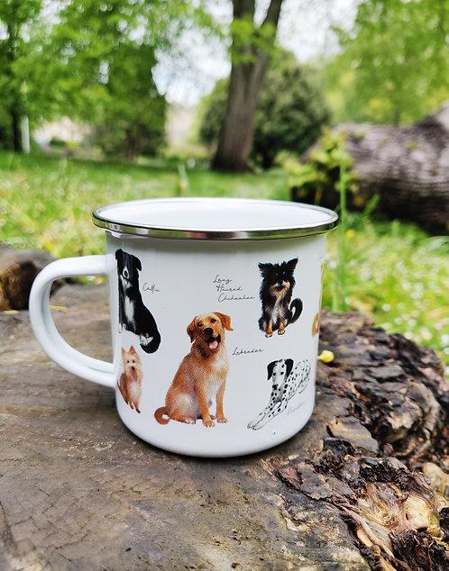 Patricia MacCarthy Dogs Enamel Mug